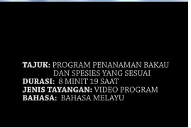 Video program bakau